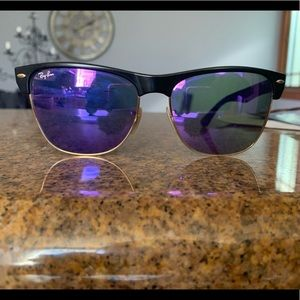 Ray Bans Oversized Clubmasters 57-16-145